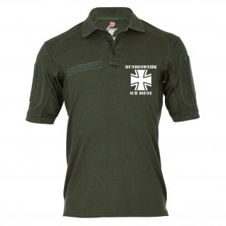 Tactical Poloshirt Alfa - Bundeswehr ich diene Soldat Deutschland BW Isaf #19288