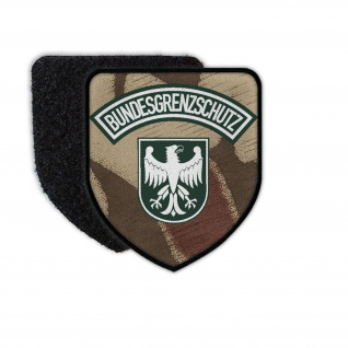 Patch Bundesgrenzschutz Splittertarn Uiform BGS alt Abzeichen Emblem #34009