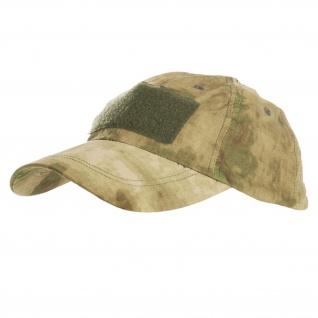 Baseball Cap Tactical ICC AU Desert Tarnmuster Klettfeldern Patches #13397