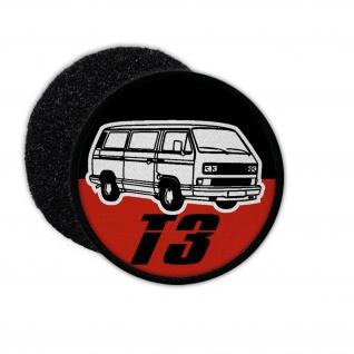 Patch T3 Bus Pritsche Bulli Lkw Doka Auto Kult Schrauber Hobby 80er Auto #31152