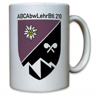 ABCAbwLehrBtl 210 Bundeswehr Wappen ABC Abwehr - Tasse #12767