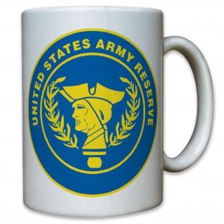 US Unites States Army Reserve Reservisten Wappen Abzeichen - Tasse #11596