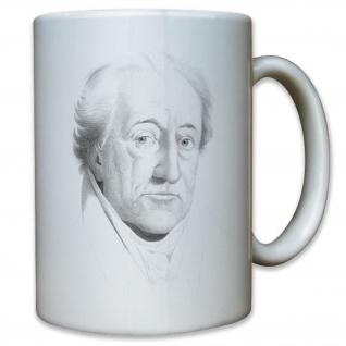Johann Wolfgang Goethe Schriftsteller Deutschland Literat Literatur Tasse #11480