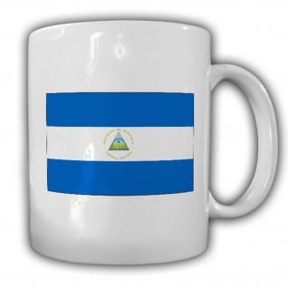 Republik Nicaragua Fahne Flagge Kaffee Becher Tasse #13825