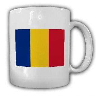 Rumänien Fahne Flagge România Kaffee Becher Tasse #13870