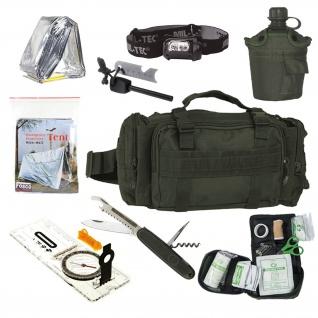 Notfalltasche Fluchtrucksack Sling bag Kriese Prepper Set Erste Hilfe Get #33930