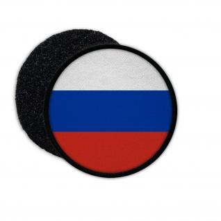 Patch Russische Föderation Russland Russia Fahne Flagge Aufnäher #23267