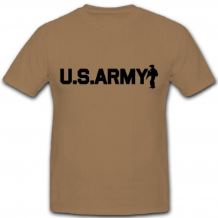 US Army Soldier Militär USA Wappen Logo - T Shirt #7306