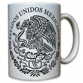 Seal of Mexico 2 Estados Unidos Mexicanos Spanisch Segler - Tasse #10485 T