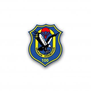 Aufkleber/Sticker FeSpähKp 100 Fernspähkompanie Fernspäher Wappen 6x7cm A1743
