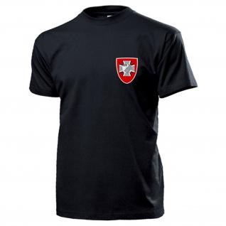 ZGeoBw Amt für Geoinformationswesen Bundeswehr Wappen Abzeichen T Shirt #17115