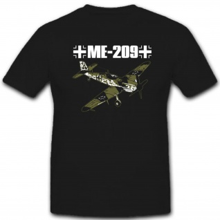Abzeichen Armee Me209 Flugzeug Wappen - T Shirt #3883