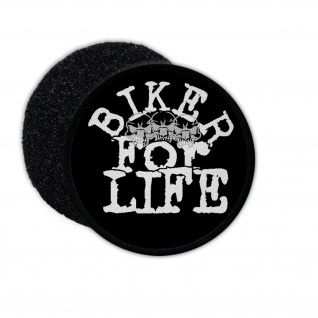Patch Biker for Life Freebiker Aufnäher Biker Rocker Club Motorcycle #34004