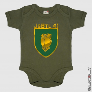 Jgbtl 41 Bundeswehr Wappen Jägerbataillon 41 Göttingen Deutschland Babystrampler #5870