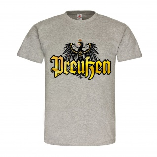 Preußen Adler Deutschland Alter Fritz Friedrich der Große Potsdam T Shirt #18487