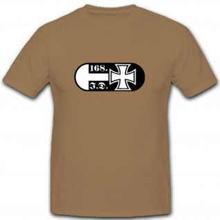 168 Infdiv 168 Infanterie Division Wh Wappen Abzeichen Emblem - T Shirt #3645