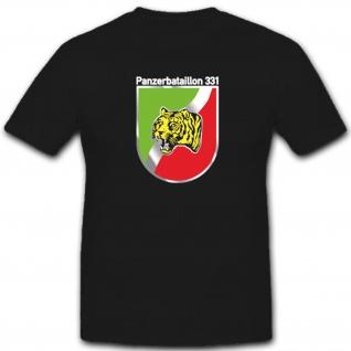 PzBtl 331 Panzerbataillon Panzer Tank Wappen Abzeichen - T Shirt #4113