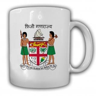 Fidschi Fahne Flagge Matanitu ko Viti- Tasse Becher Kaffee #13475