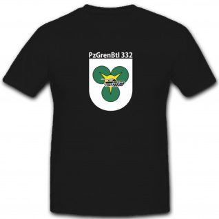 Pzgrenbtl 332 Panzergrenadierbataillon 332 Militär Bundeswehr - T Shirt #4927