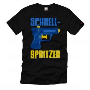 Schnellspritzer Wasser-Pistole Spritze Tactical Airsoft Spaß T-Shirt#32431