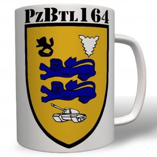 Panzerbataillon Pzbtl 164 Bundeswehr Wappen Abzeichen Armee Heer Tasse #16545