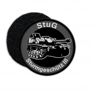 Patch StuG III Sturmgeschütz 3 Panzer Waffe Sturmartillerie Aufnäher #23237