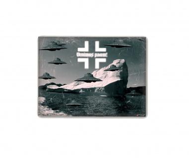 Poster Haunebu Venimus Pacem UFO Neu Schwabenland ab30x22cm#30288