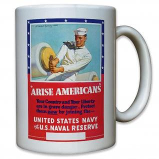 USA US United States Navy Marine Amerika amerikanische - Tasse #11378