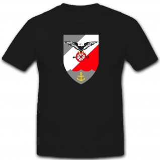 Mfg3 Wappen Abzeichen Marinefliegergeschwader Militär Bundeswehr T Shirt #3382