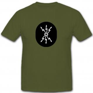 Nachrichtentechnischer Dienst Abzeichen Nva Ddr Militär - T Shirt #7914