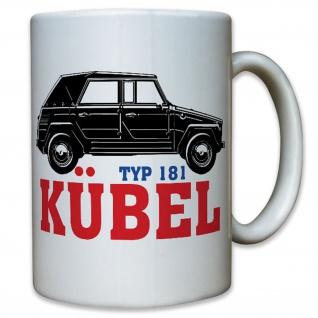 Kübel Typ 181 Kübelwagen Bundeswehr Bund Bw Fahrzeug Oldtimer Auto Tasse #12387