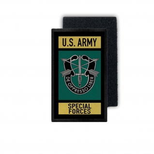 Patch US Army Special Forces Armee Amerika Sleeve Insignia 9, 8x6cm #30989