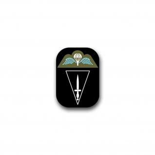 Aufkleber/Sticker Para Commando Brigade Belgien Heer Militär FschJg 5x7cm A1786