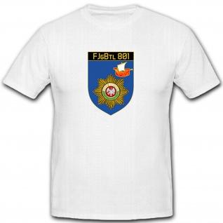 FJgBtl 801 - Feldjäger Bataillon 801 Deutschland Bundeswehr - T Shirt #12098