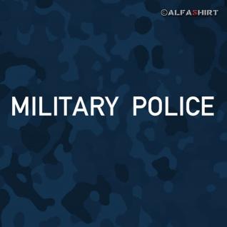 Aufkleber/Sticker Military Police US Army Bundeswehr Militär MP 20x2cm #A444