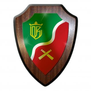 Wappenschild PzArtBtl 45 Panzerartilleriebataillon BW Militär Einheit #19788