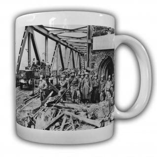 US Soldaten an der Brücke von Remagen Army Militär Truppe Einheit #22522