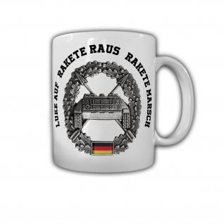 Tasse Panzerjäger Schlachtruf Bundeswehr Rakete Panzer-Jäger Hot Zug #30370