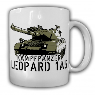 Leopard 1A5 Bundeswehr Panzer Kampfpanzer Bataillon Kompanie - Tasse #9878