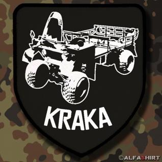 Patch / Aufnäher - Kraftkarren Fahrzeug Militär KRAKA Bundeswehr Bund Bw #12251