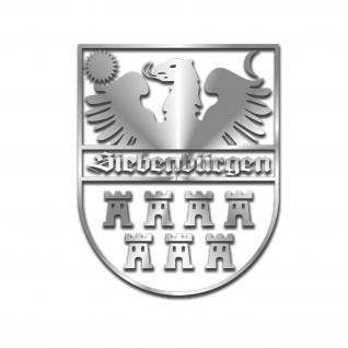 Siebenbürgen Wappen Aufkleber Siebenbürger Sachsen Transsilvanien 56x45cm#A5740