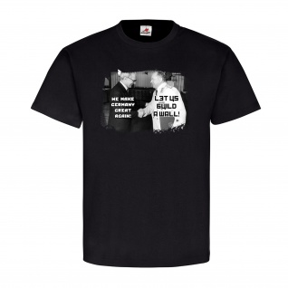DDR CCCP Let us make germany great Russia Politics Fun Humor Spaß T Shirt #20985