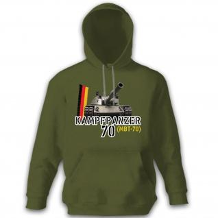 Kampfpanzer 70 MBT-70 Panzer Panzerkampfwagen Prototyp Main - Hoodie #10275
