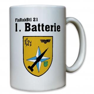 FlaRakBtl 21 Flugabwehrraketenbataillon Bataillon Bundeswehr Bw 1.- Tasse #8298