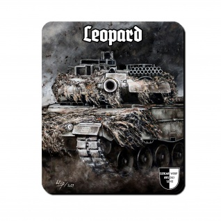 Lukas Wirp Mauspad Leopard 2a6 Bundeswehr Panzer Leo II #36697
