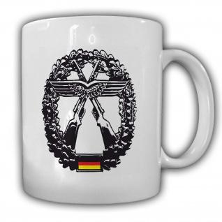 Tasse Objektschutz der Luftwaffe Waffe Bundeswehr Bund Abzeichen Wappen #24162