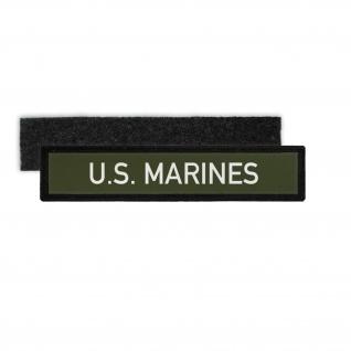 Patch Namensschild U.S Marines Navy Uniform USA Amerika Abzeichen Seals #30333