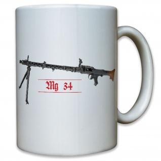 M34 Maschinengewehr 34 WK 2 WW II - Tasse Kaffee Becher #11775