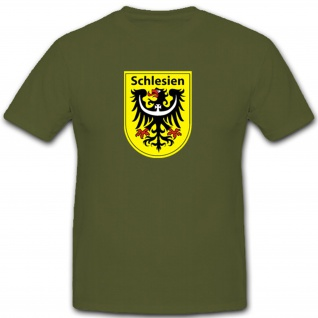 Schlesien Deutschland Polen Grenzland- T Shirt #3918