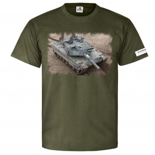 M&N Pictures Leo 2 Leopard Panzer Kampfpanzer BW Isaf Nato T Shirt #25589